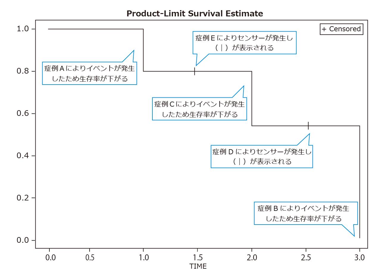 曲線 カプラン マイヤー カプラン=マイヤー法─エクセル統計による解析事例